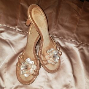 Chanel sandals heels beautiful sexy